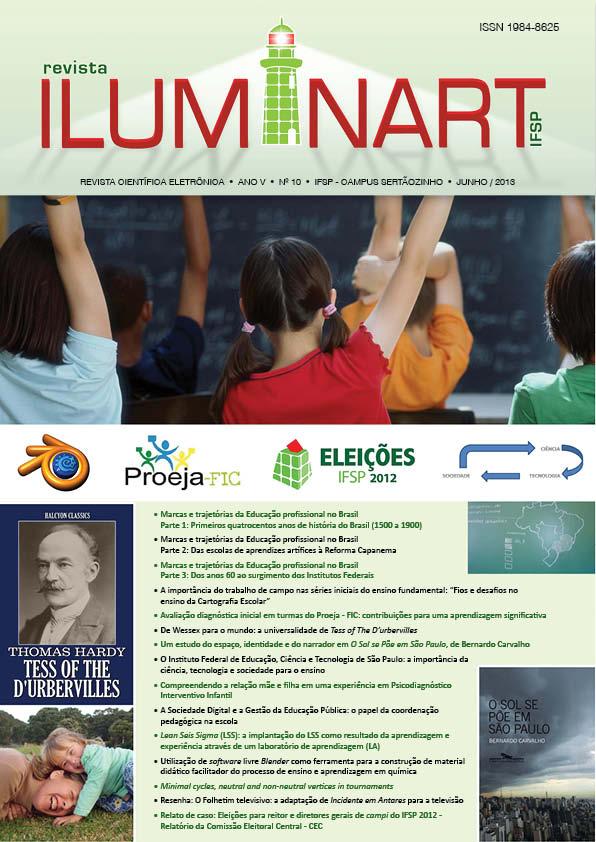 REVISTA ILUMINART, Volume 1, Número 10, junho, 2013